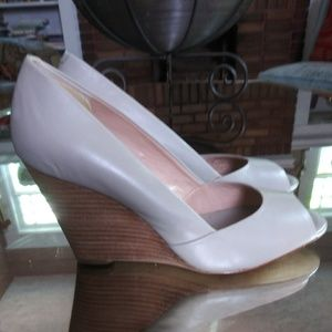 Banana Republic Open Toe Wedge 8